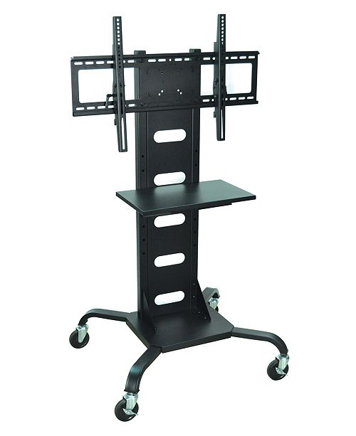 "Clickhere2shop OF-WPSMS51 - 51"" Mobile TV Stand Flat Panel with Mount - Black"