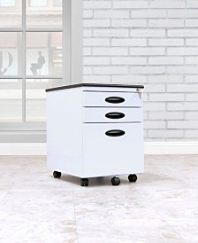 Offex File Cabinet - White