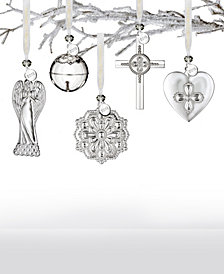 Waterford 2018 Silver Ornament Collection