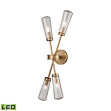 Xenia 4 Wall Sconce Matte Gold