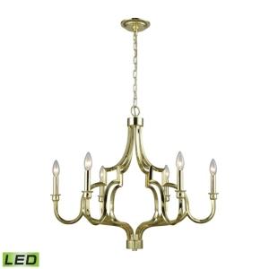 Cielo 6 Light Chandelier In Oil Rubbed Bronze