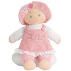 Gund Baby Girl My First Dolly Playset