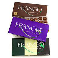 4 Frango Chocolates 45-Piece Boxes in several varieties