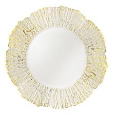 Jay Import Deniz Flower Shape Charger Plate