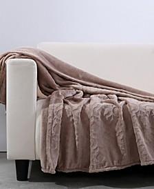 Blanket & Home Co.® Garden Damask Velvety Plush Throw