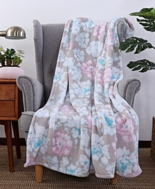 Blanket & Home Co.® Peony Print PrimaLush™ Throw