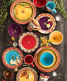 EuroCeramica Galicia Dinnerware Collection