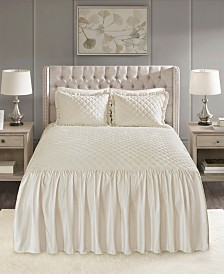 Madison Park Roxanne 3-Pc. King Faux Velvet Bedspread Set