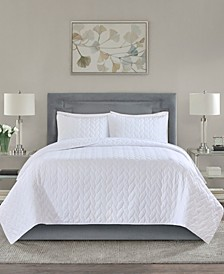 Noel Quilted 3-Piece King/Cal King Coverlet Set
