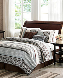 Madison Park Princeton 5-Pc. Full/Queen Coverlet Set
