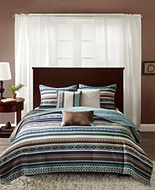 Malone 6-Pc. Full/Queen Coverlet Set