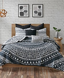 Larisa 7-Pc. Full/Queen Cotton Coverlet Set