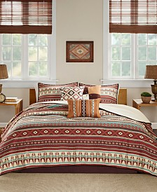 Madison Park Taos 6-Pc. Full/Queen Coverlet Set