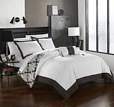 Trina 8 Pc Queen  Duvet Set