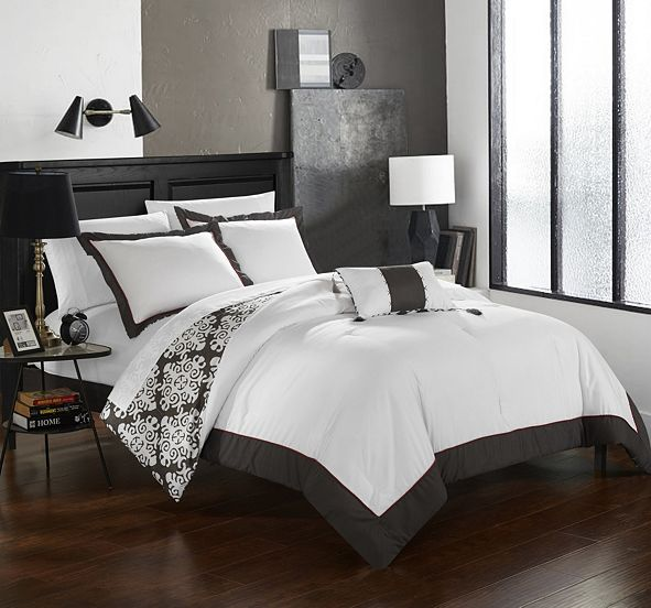 Chic Home Trina 8 Pc Queen  Duvet Set