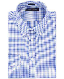 Tommy Hilfiger Men's Slim-Fit Check Dress Shirt