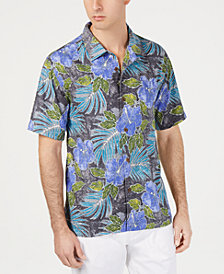 Tommy Bahama Men's Hibiscus Cove Tropical-Print Silk Camp Shirt