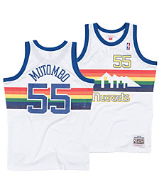 Mitchell & Ness Men's Dikembe Mutombo Denver Nuggets Hardwood Classic Swingman Jersey