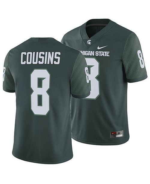 new concept 8ca93 74e3b Men's Kirk Cousins Michigan State Spartans Player Game Jersey