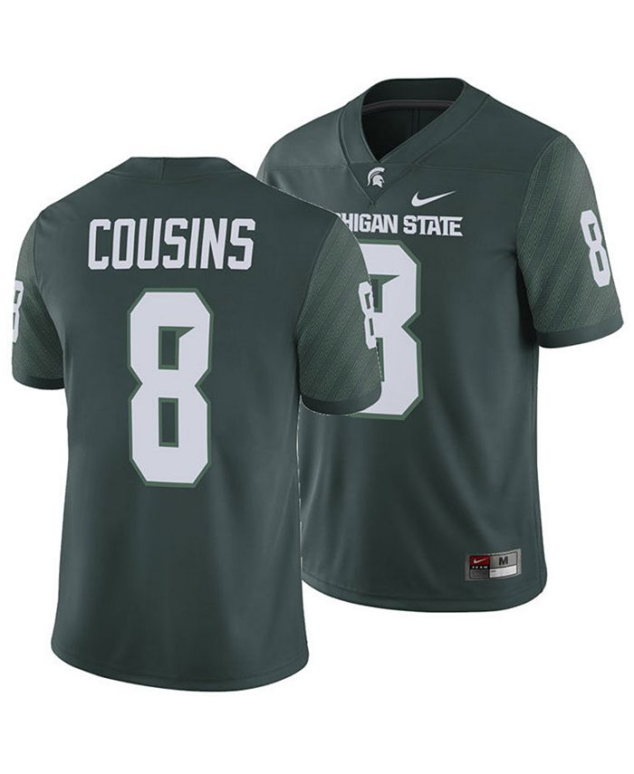Men's Kirk Cousins Michigan State Spartans Player Game Jersey