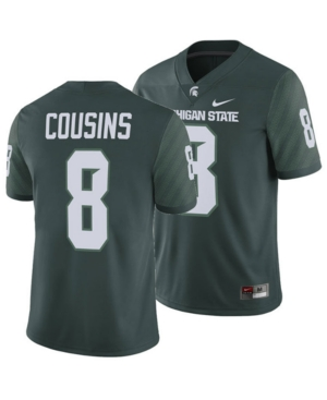 Nike Men's Kirk Cousins Michigan State Spartans Player Game Jersey