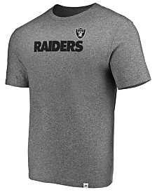 Majestic Men's Oakland Raiders Static Fade T-Shirt