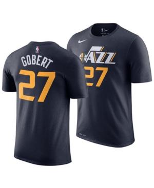 Nike Men's Rudy Gobert Utah Jazz Icon Player T-Shirt