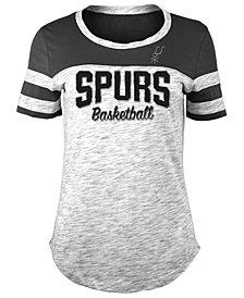 5th & Ocean Women's San Antonio Spurs Spacedye T-Shirt