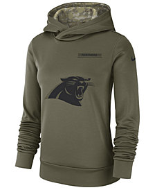 Nike Women's Carolina Panthers Salute To Service Therma Hoodie