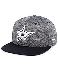 Authentic NHL Headwear Dallas Stars Emblem Snapback Cap