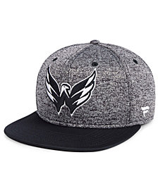 Authentic NHL Headwear Washington Capitals Emblem Snapback Cap