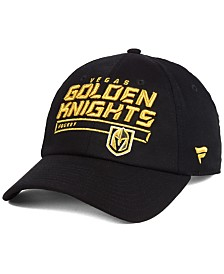 Authentic NHL Headwear Vegas Golden Knights Rinkside Fundamental Adjustable Cap