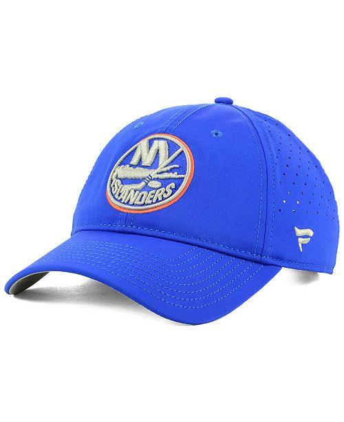 a063e08292f76 Authentic NHL Headwear New York Islanders Pro Clutch Adjustable Cap ...
