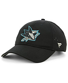 Authentic NHL Headwear San Jose Sharks Pro Clutch Adjustable Cap