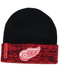 Authentic NHL Headwear Detroit Red Wings Pro Rinkside Cuffed Knit Hat