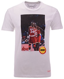 Mitchell & Ness Men's Houston Rockets Photo Real T-Shirt
