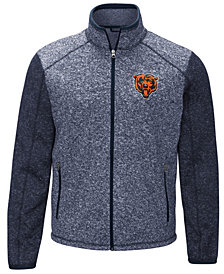G-III Sports Men's Chicago Bears Alpine Zone Sweater Fleece Jacket