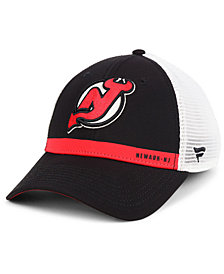 Authentic NHL Headwear New Jersey Devils Rinkside Trucker Adjustable Cap