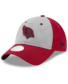 New Era Women's Arizona Cardinals Gray Glitter 9TWENTY Cap