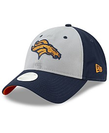New Era Women's Denver Broncos Gray Glitter 9TWENTY Cap