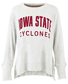 Pressbox Women's Iowa State Cyclones Cuddle Knit Sweatshirt