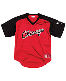 Mitchell & Ness Men's Chicago Bulls Final Seconds Mesh V-Neck Jersey