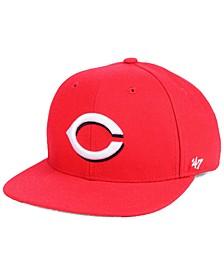 Boys' Cincinnati Reds Basic Snapback Cap