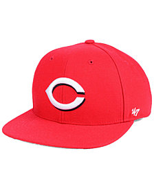 '47 Brand Boys' Cincinnati Reds Basic Snapback Cap