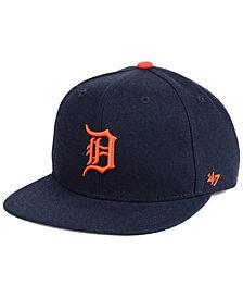 '47 Brand Boys' Detroit Tigers Basic Snapback Cap