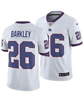 5495ea18 Nike Men's Saquon Barkley New York Giants Limited Color Rush Jersey