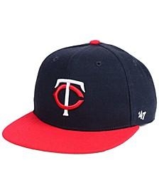 Boys' Minnesota Twins Basic Snapback Cap
