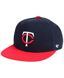'47 Brand Boys' Minnesota Twins Basic Snapback Cap