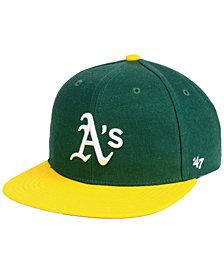 '47 Brand Boys' Oakland Athletics Basic Snapback Cap