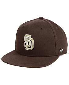 '47 Brand Boys' San Diego Padres Basic Snapback Cap
